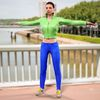 08 10 49 621 photorealistic 3d girl green leather jacket blue pants cute sexy woman avatar 3d full body scan 360 1 4