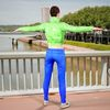 08 10 49 723 photorealistic 3d girl green leather jacket blue pants cute sexy woman avatar 3d full body scan 360 2 4