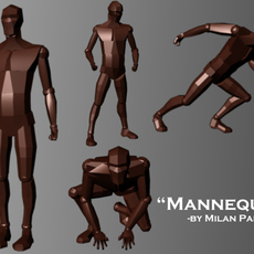 Mannequin 0.0.2 for Maya