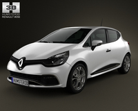 Renault Clio IV RS 2013 3D Model
