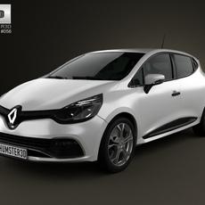 Renault Clio IV RS 2013 3D Model