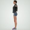 08 11 17 210 photorealistic 3d girl leather jacket hotpants jeans cute sexy woman avatar 3d full body scan 360 3 4