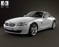 BMW Z4 (E85) coupe 2002 3D Model