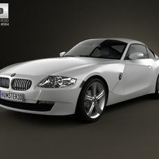 BMW Z4 (E85) coupe 2002 3D Model