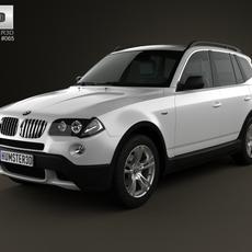 BMW X3 (E83) 2003 3D Model