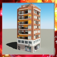 Building 49 3D Model