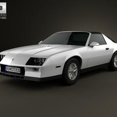 Chevrolet Camaro Z28 coupe 1982 3D Model