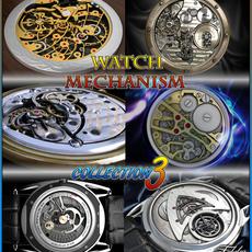 Watch mechanism coll 3 3D Model