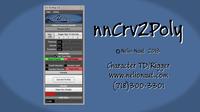 Free nnCrv2Poly v1.1(MEL) for Maya 1.0.1 (maya script)