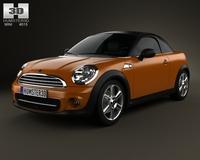 Mini Cooper roadster 2013 3D Model