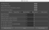 Free rmbTileTool for Maya 0.2.3 (maya script)