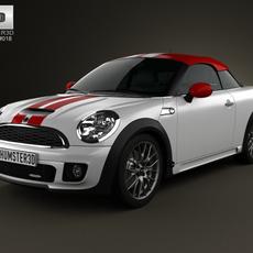 Mini John Cooper Works coupe 2013 3D Model