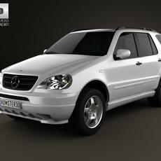 Mercedes-Benz M-Class (W163) 1997 3D Model