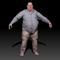 Large Guy 3D Model