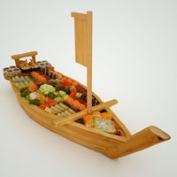 Titanic Sushi Boat 3D Model