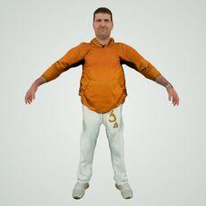 Old Trainer 3D Model