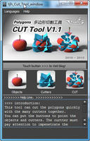 Free tjh_cut_tool for Maya 1.0.1 (maya script)