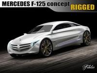 Mercedes F125 concept 3D Model
