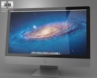 Apple iMac 27 2013 3D Model