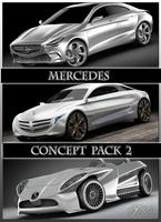 Mercedes Concept pack 2 3D Model