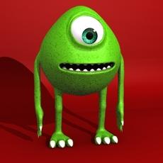 Monster 3D 3D Model