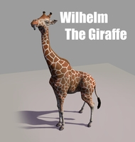 Wilhelm the Giraffe 1.0.1 for Maya