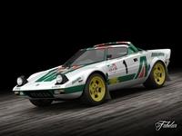 Lancia Stratos HF 3D Model