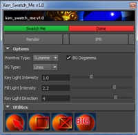 Free Ken_Swatch_Me for Maya 1.0.0 (maya script)