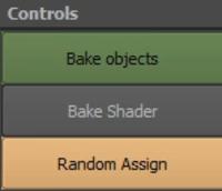 Random Shader assign to objects 0.1.0 for Maya (maya script)