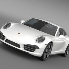 Porsche 911 50 Year Edition 2013 3D Model 3D Model