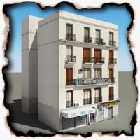 Building 58 3D Model