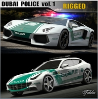 DUBAI Police vol.1 3D Model