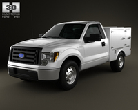 Ford F-150 6 Series WB 2011 3D Model