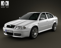 Skoda Octavia RS Tour 2000 3D Model