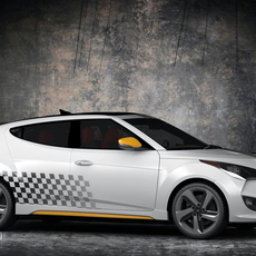 Hyundai Veloster Turbo 3D Model