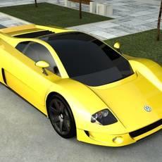 Volkswagen W12 3D Model