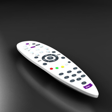 Universal Remote control 3D Model