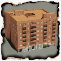 Building 64 3D Model