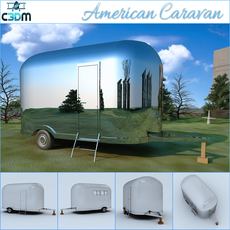 American Caravan 3D Model