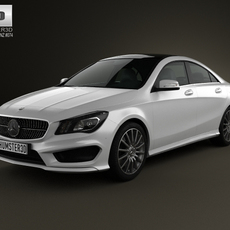 Mercedes-Benz CLA 45 AMG 2013 3D Model