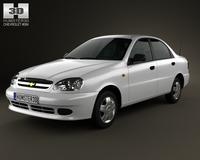 Chevrolet Lanos 2012 3D Model