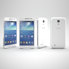 Samsung Galaxy S4 Mini White 3D Model