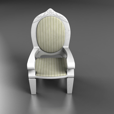 Dolls pushchair 3D Model