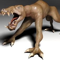Beast Dog 3D Model