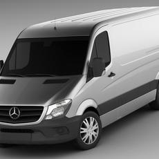 Mercedes Sprinter MY2014 standard 3D Model