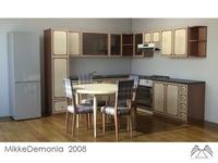 Kitchen 01 3D Model