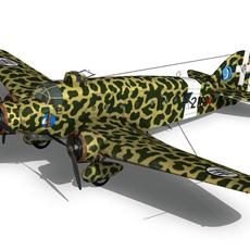 Savoia-Marchetti S.M.81 Pipistrello 3D Model