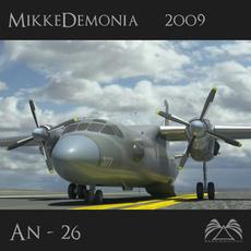 Antonov An-26 3D Model
