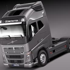 Volvo Fh16 globtrotter 2013 3D Model