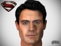 Henry Cavill 3D Model